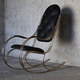 Rocking Chair Brass 1970