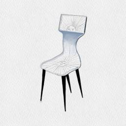 Artistic Chairs - Piero Fornasetti   1950
