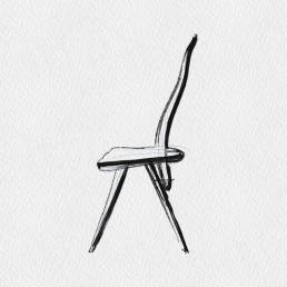 Chairs - Carlo Mollino   1947