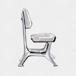 Industrial Chairs - Officine Breda Giulio Minoletti   1953