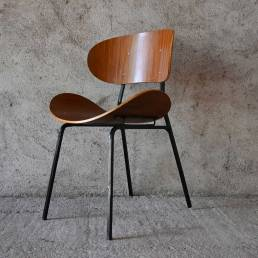 Curved Wood Industry by Carlo Ratti T. Silvana Comfort 1950