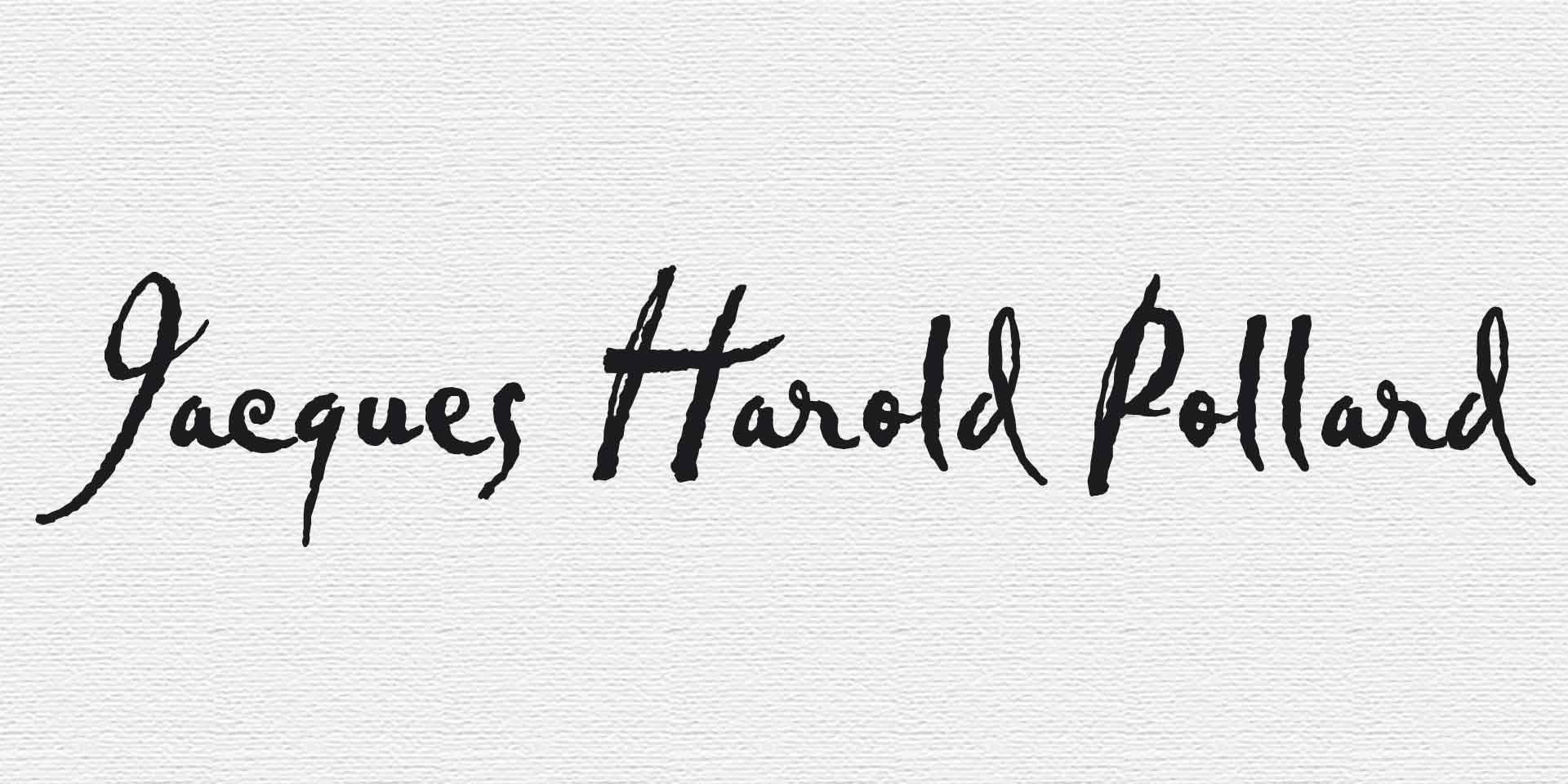 Jacques Harold Pollard
